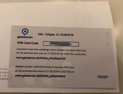 Gamescom Wildcard Ticket
