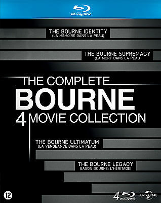 The Bourne Collection - 4 Blu Ray Italian Edition (2012)