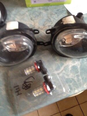 ROVER 45 75 25 MG TF Zr Zs FRONT FOG LIGHT X 2 PAIR FOG LAMPS With Hid Bulbs