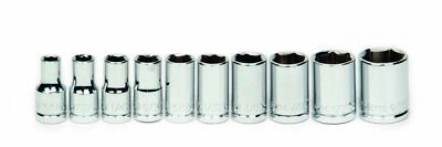 Williams 30922 10-Piece 1/4-Inch Drive Shallow 6 Point Socket Set