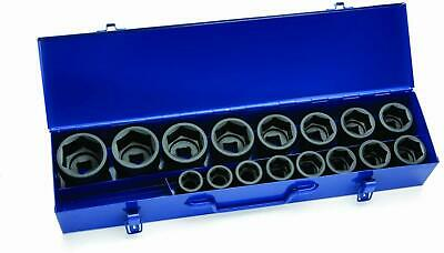 Williams 38901 17-Piece 3/4-Inch Drive Shallow 6 Point Socket Set