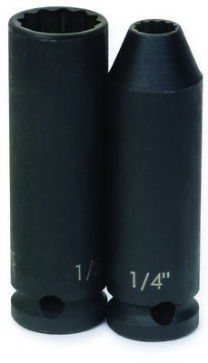 Williams 35416 3/8-Inch Drive 16mm Deep Impact 12-Point Socket