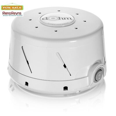 Sound Machine Sleep White Natural Noise Therapy Nature Sounds Soothing Relax
