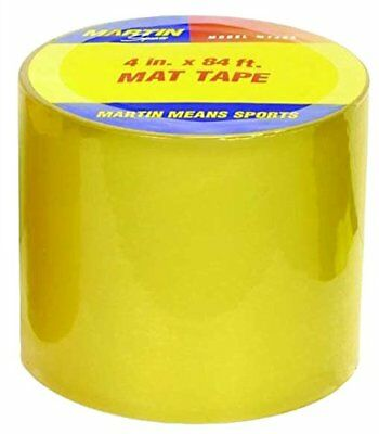 NEW Martin Sports Heavy Gauge Mat Tape 4 Wide FREE SHIPPING
