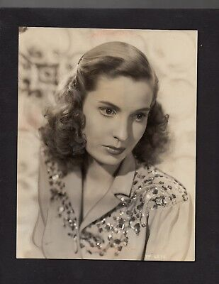 "1949 Press Photograph Celebrity Actress Valerie Hobson in ""Blanche Fury"" *4414"