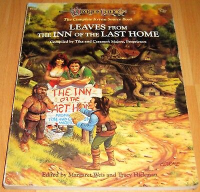 DragonLance Krynn Source Book - Inn of the Last Home - Dungeons and Dragons TSR