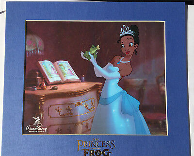 Disney The Princess And The Frog Limited Edition Original Sericel - Rare!!!