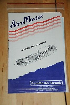 Decals - AeroMaster - Fighting Lavochkins I - 48-086