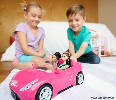Barbie Car Glam Convertible Doll Vehicle Toy Game Girls