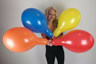 """50 x EVERTS 40cm Luftballons *VIER FARBEN* FOUR COLORS * 16"""" EVERTS BALLOONS"""