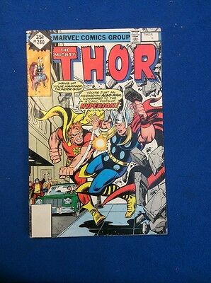 Thor COMIC Book Lot By MARVEL: Features 10 different Issues from silver age up.
