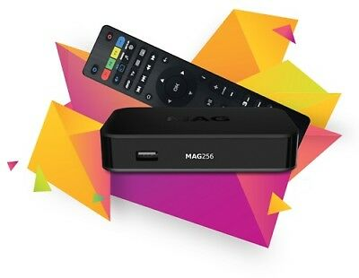 Genuine Infomir MAG256w2 IPTV Set-Top Box faster then MAG 254 built-in Wi-Fi.