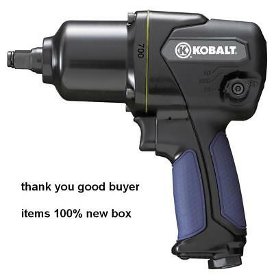 New-Kobalt 1/2-in 700 ft-lbs Air Impact Wrench