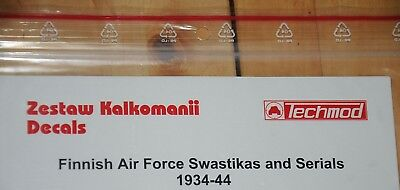 Decals - Techmod - Finnish Air Force Swastikas and Serials 1934-44