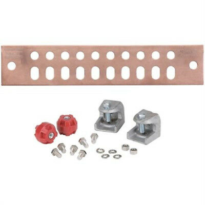 "CommScope UGBKIT-2010 2"" by 10"" copper ground bar 12 available"