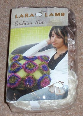 Lara Lamb Cushion Kit - Knitting
