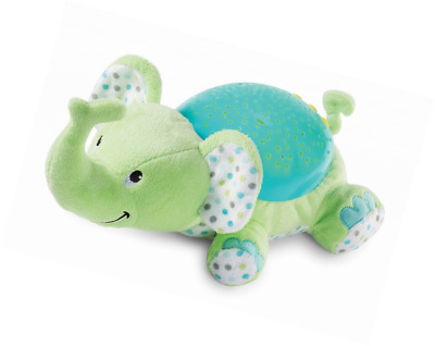 Infant Slumber Buddies Projection Melodies Soother, Eddie the Elephant-Elephant