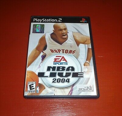Nba Live 2004 (sony playstation 2) -Complete
