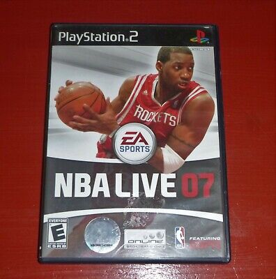 NBA Live 07 (Sony PlayStation 2, 2006) -Complete