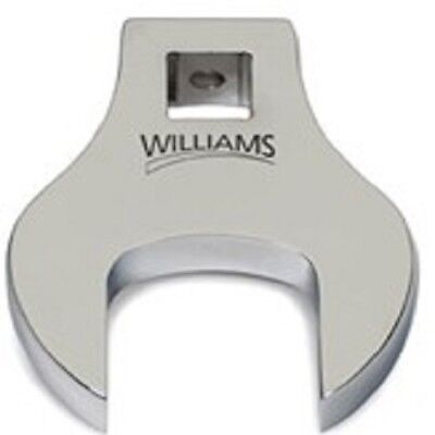 Williams 10827 1/2-Inch Open End Drive Crowfoot Wrench, 2-Inch