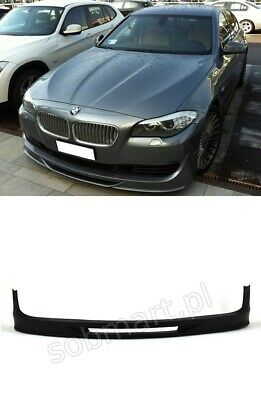 Bmw 5 Series F10 F11 2010-2013 Front Bumper Spoiler Extension Front Lips Tuning
