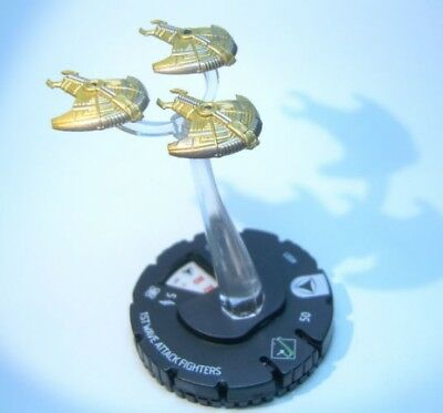 HeroClix Star Trek Tactics IV #001 1st Wave Attack Fighters