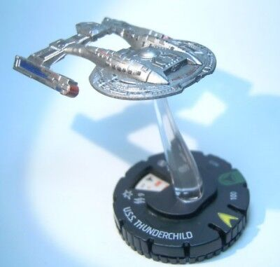 HeroClix Star Trek Tactics IV #013 U.S.S. Thunderchild