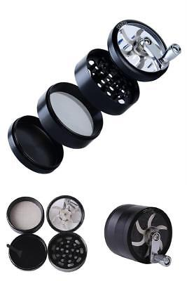 Heavy Duty Crusher Weed Marijuana Herb Spice Tobacco Grinder with Mill Handle