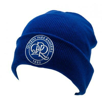 Official Licensed Football Queens Park Rangers F.C. Knitted Hat TU Bl Sport Cap