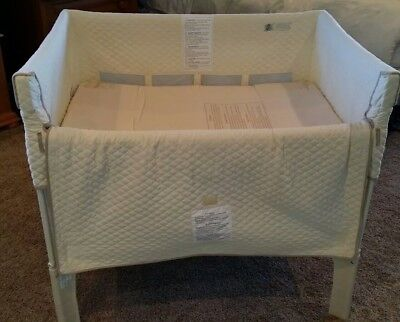 Arm'sReach Co-Sleeper Bassinet (not mini, standard size), natural color