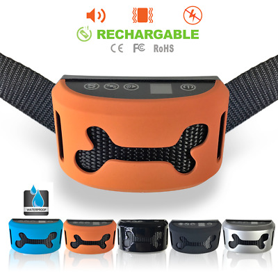 New Automatic Anti Bark Stop Barking Dog Training Collar Vibration And Beep
