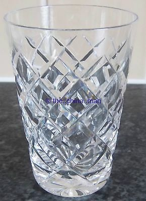 "WATERFORD TYRONE CRYSTAL cut GLASS 3&5/8"" 120ml TUMBLER 3 available"