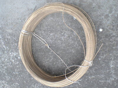 Type K thermocouple wire approx 400m fiberglass insulated