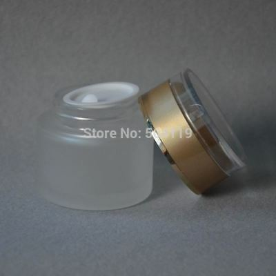 50g frosted glass cream jar cosmetic container cream jar Cosmetic Packaging glas