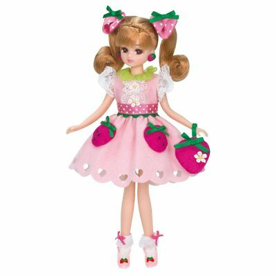 Takara Tomy Japan Licca Doll LD-08 Milky Strawberry Tracking Number from Japan