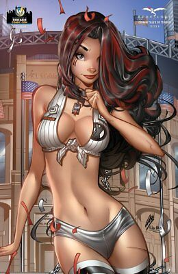 Zenescope Grimm Tales of Terror Vol #3 Issue #8 Paul Green Cover D WW Chicago
