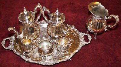 """""""Baroque"""" by Wallace Silverplate Hollowware Collection - 27 Total Pieces !!!"""