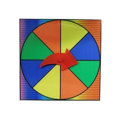 NEW Prize Wheel Party Game Spinner Customize with Dry Erase or Washable Marker