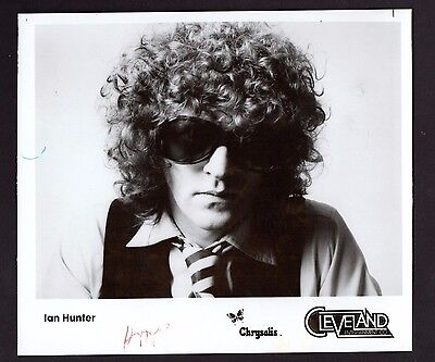 1979 Press Photograph Celebrity Singer Ian Hunter *2492