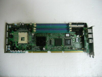 1PC USED Advantech PCA-6187VE Card with CPU