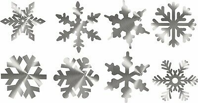 DXF CNC dxf for Plasma Router Vector Snow Flake 8 Ornaments Christmas In/Outdoor
