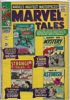 Marvel Tales #4 Marvel Silver Age Comic FN+/VF- (Spider-Man/Thor/Ant-Man/Torch)