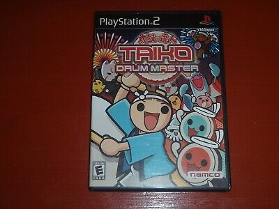 Taiko Drum Master (Sony PlayStation 2, 2004) -Game Complete but No Controller