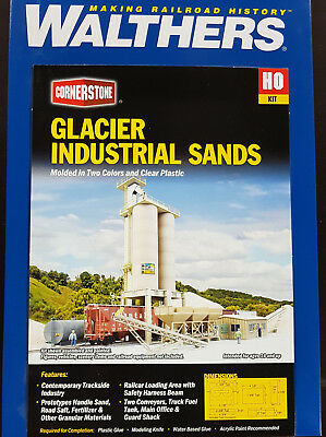 Walthers Cornerstone HO Kit Glacier Industrial Sands 933-4035