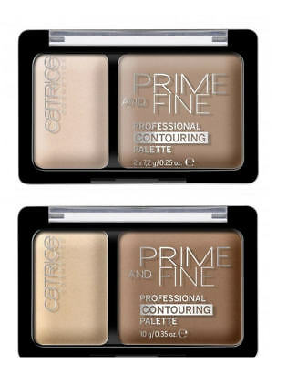 Essence Prime and Fine - professional contouring palette Puder 010/030 Highlight