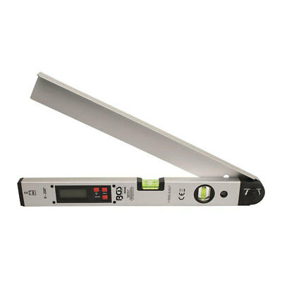 Digital LCD Protractor with Level, 450 mm