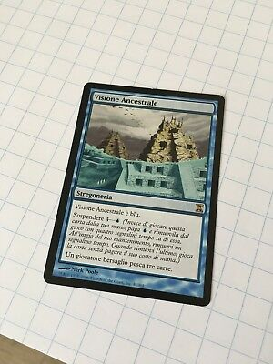 Visione Ancestrale - Ancestral Vision Mtg Time Spiral Excellent ITALIANO