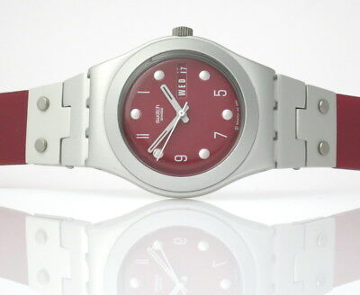 Skyline Red  - SWATCH Irony Medium - YLS7003 - NEU und ungetragen
