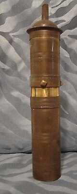 Vintage Brass Turkish Coffee Grinder - Please read and view all photos
