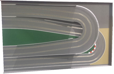 "MrTrax Modular Slot Car Track, 2 Lane END SECTION ""RX"" FLYOVER"